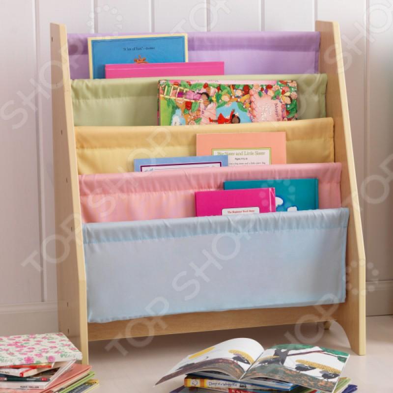 Книжный стеллаж детский KidKraft Pastel