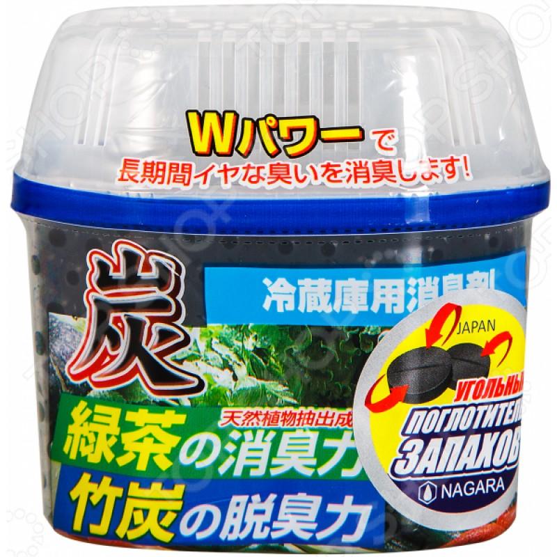 Уголь для устранения запаха в холодильнике NAGARA
