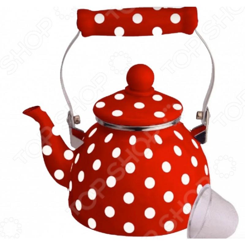 Чайник эмалированный Kelli KL-4465