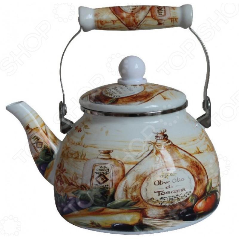 Чайник эмалированный Mercury MC-7510