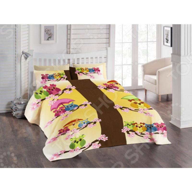 Детский комплект постельного белья ТамиТекс «Совята»