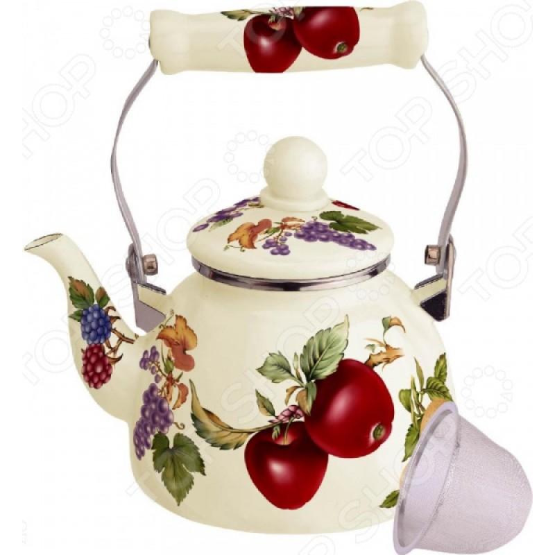 Чайник эмалированный Kelli KL-4467