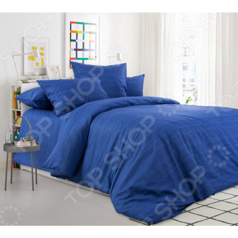 Комплект постельного белья ТексДизайн «Синий агат»