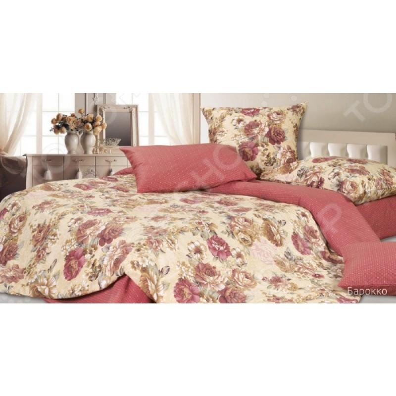Комплект постельного белья Ecotex «Барокко». 1,5-спальный