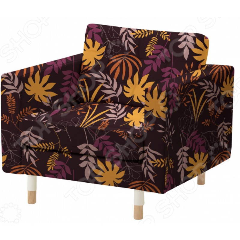 Чехол на кресло «Листопад». Размер: 90х140 см