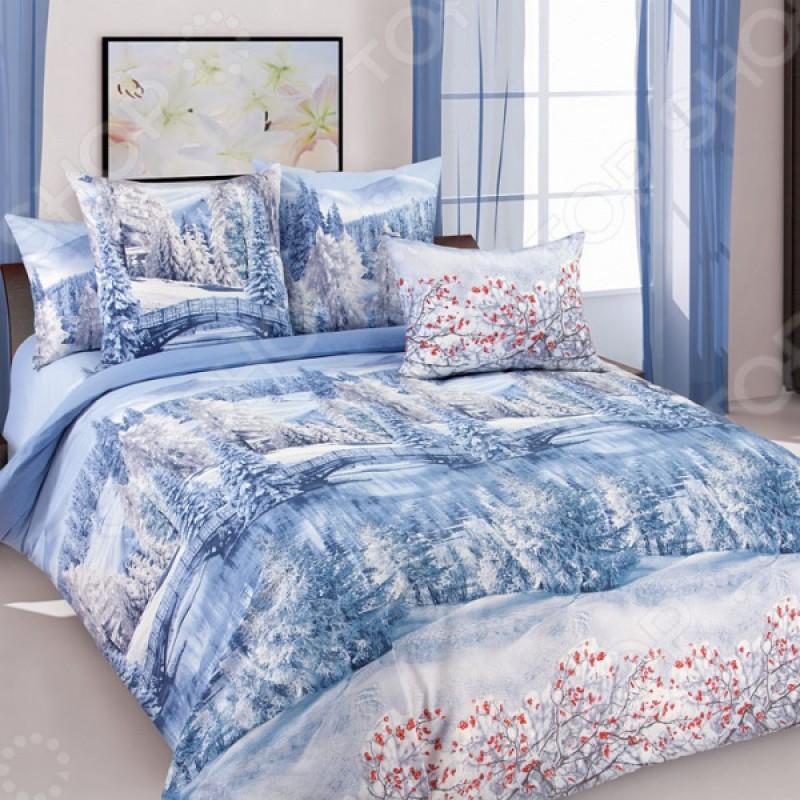 Комплект постельного белья Королевское Искушение «Зима»
