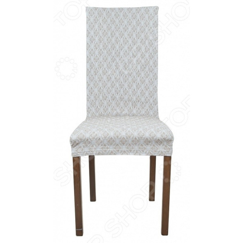 Комплект натяжных чехлов на стул Еврочехол «Фло»