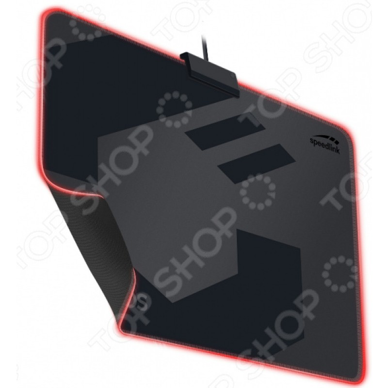 Коврик для мыши Speedlink Orios с подсветкой
